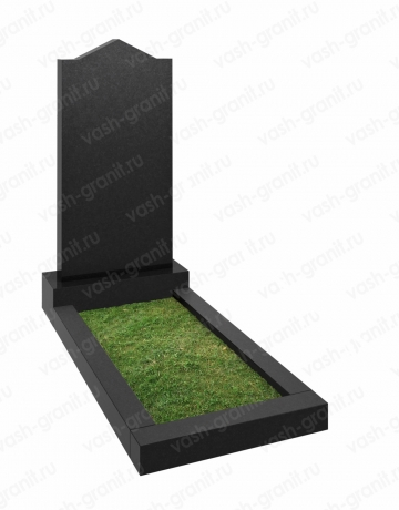 Вертикальный памятник на могилу ВГ-В-07