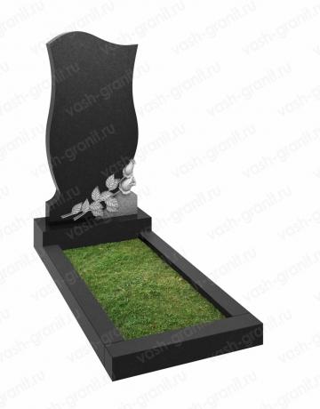 Вертикальный памятник на могилу ВГ-В-117
