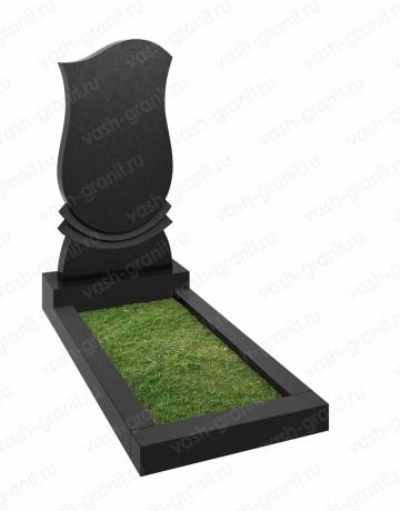 Памятник на могилу из гранита вертикальный ВГ-В-132-2