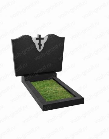 Двойной памятник на могилу узкий ВГ-В-203-2