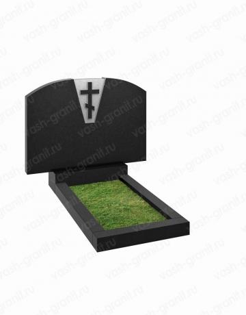 Двойной памятник на могилу узкий ВГ-В-206-2