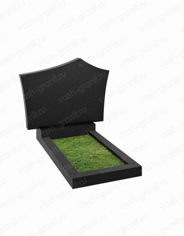 Горизонтальный памятник на могилу узкий ВГ-В-237-2