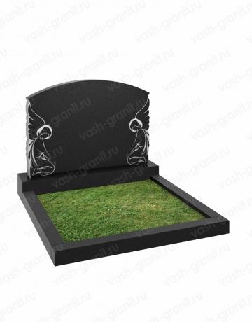 Горизонтальный памятник на могилу широкий ВГ-В-264