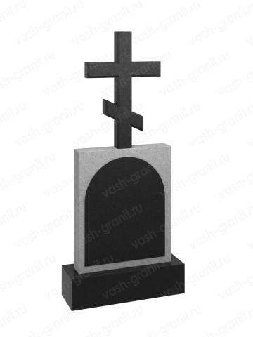 Голгофа на могилу из гранита ВГ-В-510