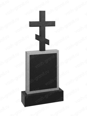 Крест на могилу из гранита ВГ-В-511