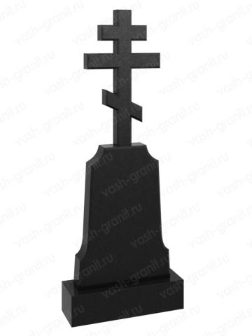 Крест на могилу из гранита ВГ-В-518