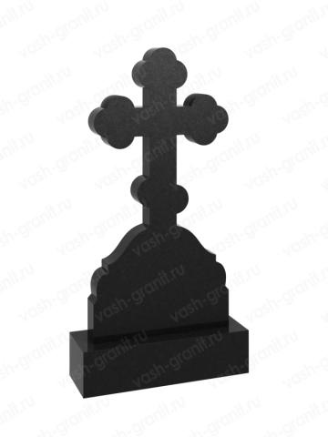 Крест на могилу из гранита ВГ-В-521