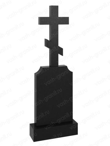 Крест на могилу из гранита ВГ-В-537