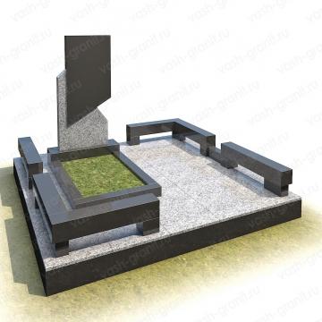 Элитный памятник на могилу из гранита ВГ-В-1