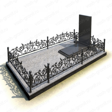 Элитный памятник на могилу из гранита ВГ-В-28