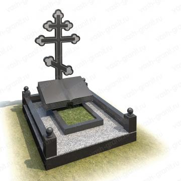 Элитный памятник на могилу из гранита ВГ-В-30