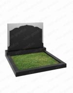 Горизонтальный памятник на могилу широкий ВГ-В-257