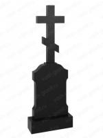 Крест на могилу из гранита ВГ-В-542