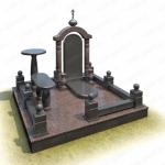 Элитный памятник на могилу из гранита ВГ-В-11